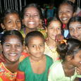 Smile of foster children